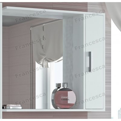 Зеркало-шкаф Francesca Eco 80 белый