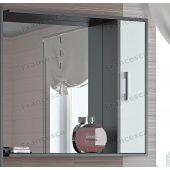 Зеркало-шкаф Francesca Eco 80 белый-венге