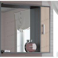 Шкаф-зеркало Francesca Eco 80 дуб-венге