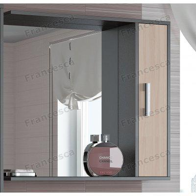 Зеркало-шкаф Francesca Eco 80 дуб-венге