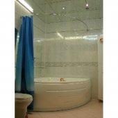 Карниз для ванны Дугой 155x155см