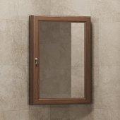 Зеркало-шкаф Opadiris Клио 45 угловое