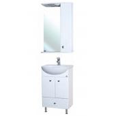 Комплект мебели для ванной Bellezza Уют 55 с нижним ящиком