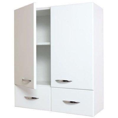 Шкаф для ванной двухдверный Onika Кредо 60 (2 ящика)
