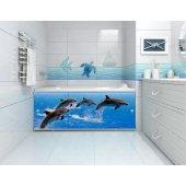 Экран под ванну раздвижной Афалины 148 см