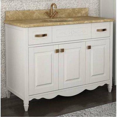 Тумба с раковиной для ванной АСБ-мебель Палермо 115