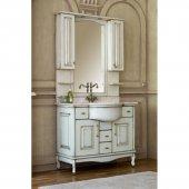 Комплект мебели для ванной Аллигатор Капан H(D) 110