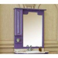 Зеркало-шкаф для ванной Аллигатор Капан M(D) 90