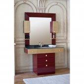 Комплект мебели для ванной Аллигатор Квадро D 120