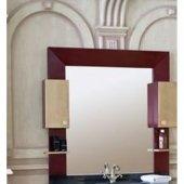 Зеркало-шкаф для ванной Аллигатор Квадро D 120