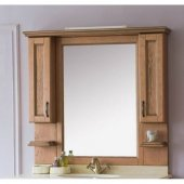 Зеркало-шкаф для ванной Аллигатор Вито 120M (D)