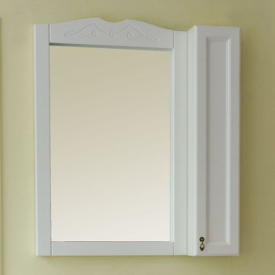 Зеркало-шкаф для ванной Аллигатор Милана 3 85