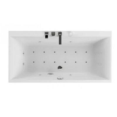 Акриловая ванна Акватика Армада 3D 180x90х68