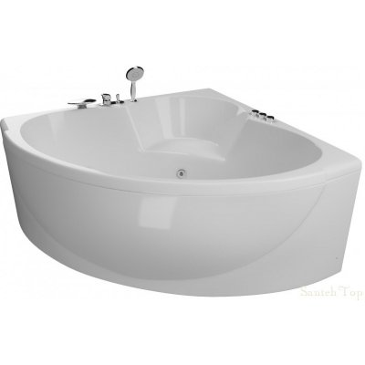 Акриловая ванна Акватика Эпюра Basic 140x140x56