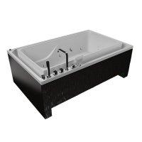 Акриловая ванна Акватика Гидра 3D 190x120х67