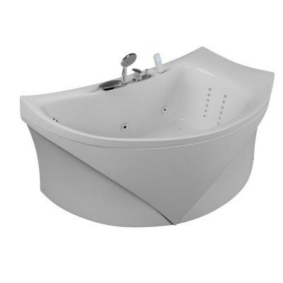 Акриловая ванна Акватика Готика Standart 150x90x65