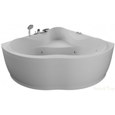 Акриловая ванна Акватика Кворум Basic 143x143x65