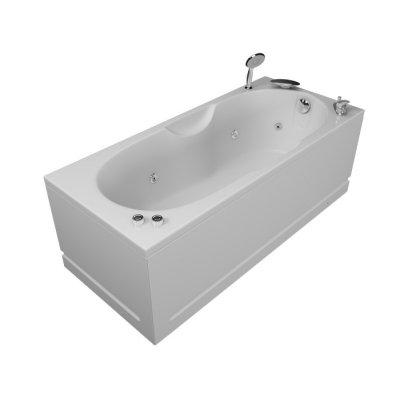 Акриловая ванна Акватика Лира Standart 160х70х56