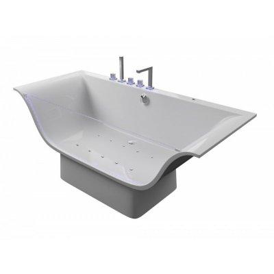 Акриловая ванна Акватика Плазма Basic190x80х70