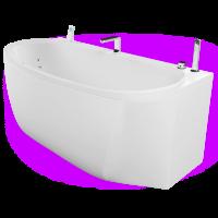 Акриловая ванна Акватика Ренессанс Basic 170x80x72