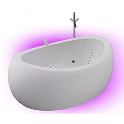 Акриловая ванна Акватика Зеро Reflexa 207x140x87