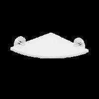 Полочка стеклянная угловая BEMETA NEO 104102015