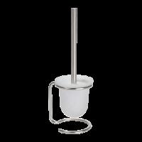 Туалетная щетка с стеклянным держателем BEMETA NEO 104113105