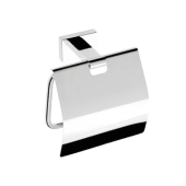 Держатель туалетной бумаги с крышкой BEMETA PLAZA 118112012