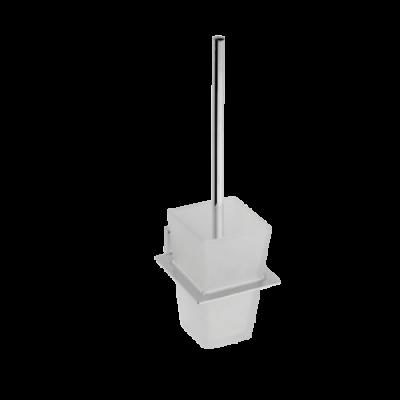 Туалетная щетка с настенным держателем BEMETA PLAZA 118113012