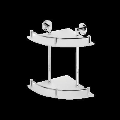 Полочка двойная угловая BEMETA OMEGA 104202142 355 мм