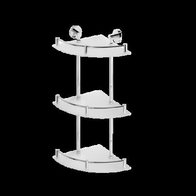 Полочка угловая тройная BEMETA OMEGA 104202152 270 мм