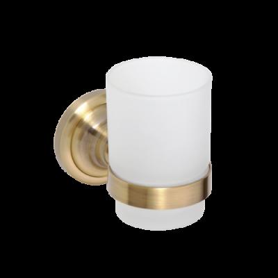 Держатель для стакана BEMETA RETRO 144210018 Хром-золото