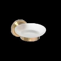 Мыльница стеклянная BEMETA RETRO 144208028 Хром-золото