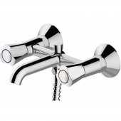Смеситель Bravat Duo F6133186CP-B-RUS для ванны