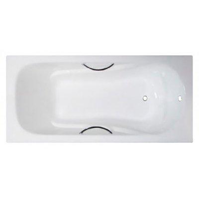 Чугунная ванна Castalia Paola 1700х750х420 с ручками