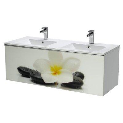 Тумба с раковиной для ванной Dreja Image 120 лилия