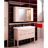 Комплект мебели для ванной EcoGreen Эллис 105