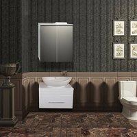 Комплект мебели для ванной Ferrara Лира 60