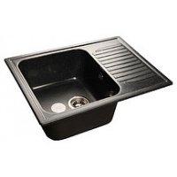 Мойка кухонная GranFest Standart GF-S645L черный