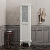 Шкаф-Пенал для ванной комнаты Opadiris Борджи L слоновая кость