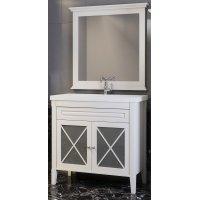 Комплект мебели Opadiris Палермо 90 белый матовый