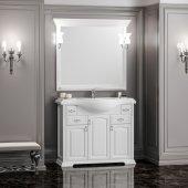 Комплект мебели Opadiris Риспекто 105 белый матовый