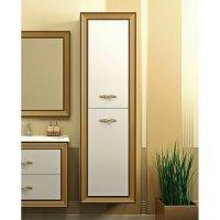 Шкаф-Пенал для ванной комнаты Opadiris Карат R золотая патина