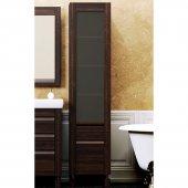 Шкаф-Пенал для ванной комнаты Opadiris Лаварро 40 R венге