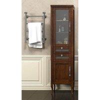 Шкаф-Пенал для ванной комнаты Opadiris Мираж 45 L светлый орех