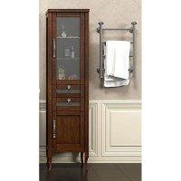 Шкаф-Пенал для ванной комнаты Opadiris Мираж 45 R светлый орех