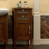 Комод-Тумба напольная для ванной Opadiris Мираж L светлый орех