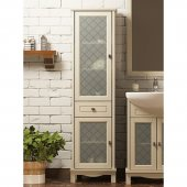 Шкаф-Пенал для ванной комнаты Opadiris Омега 45 L