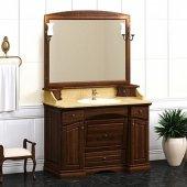 Комплект мебели для ванной Opadiris Лучия 120 нагал