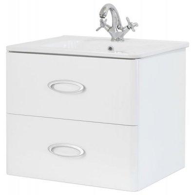 Тумба с раковиной для ванной Pragmatika Quadro Ring QR-1 60